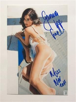 Gemma Lee Farrell - 4 x 6 Signed Photograph w/ COA