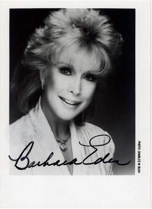 Barbara Eden - 5 x 7 Signed Photograph w/COA