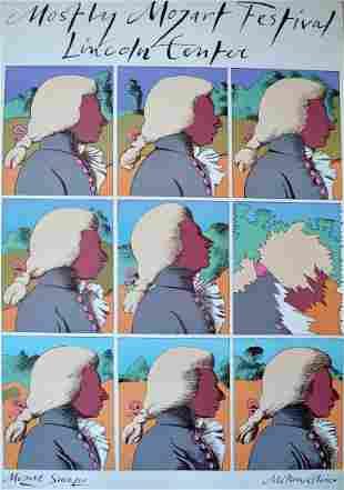 """Milton Glaser - """"Mostly Mozart Festival"""""""