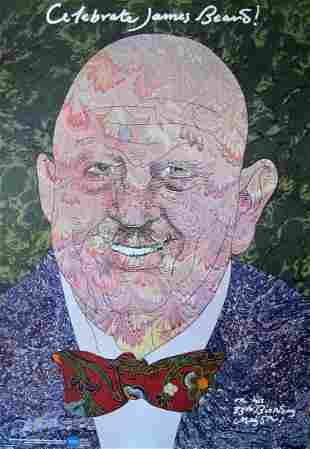 "Milton Glaser - ""Celebrate James Beard!"""