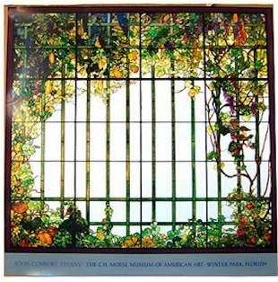 TIFFANY HECKSHER WINDOW Vintage Poster