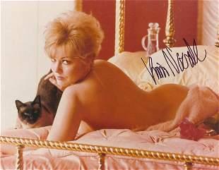 Kim Novak- 10 x 8 Color glossy sexy signed photograph