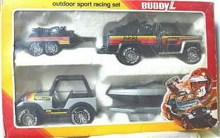 BUDDY L OUTDOOR SPORT RACING SET
