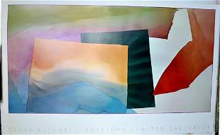 PAUL KITCHELLE- ABSTRACT I liquidation 2 for one