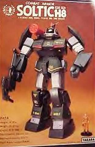 TAKARA COMBAT ARMOR SOLTIC ROUND FACER ROBOTIC FIGURE