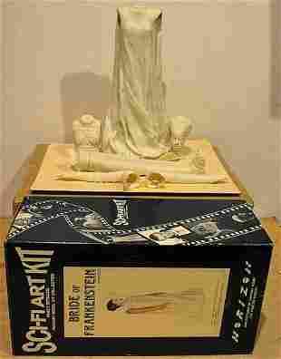 BRIDES OF FRANKENSTEIN SCI-FI ART FANTASY MODEL KIT