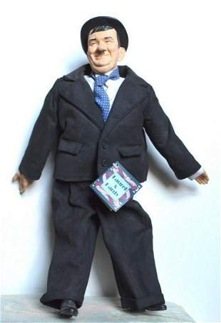 """OLIVER HARDY 16"""" DOLL FROM """"LAUREL & HARDY"""" TV SHOW"""