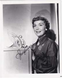 Jane Wyman - 8 x 10 Signed Photograph w/COA