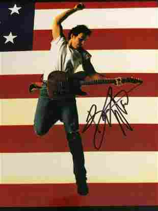 Bruce Springsteen - 8 x 10 Signed Photograph w/COA