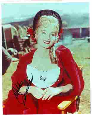 Debbie Reynolds 8 x 10 Signed Photograph w/COA