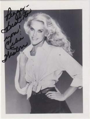 Celia Weston - 4 x 5 Signed Photograph w/COA