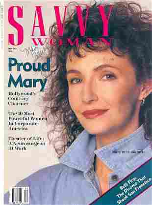 Mary Steenburgen- Signed Savvy Woman Magazine Cover