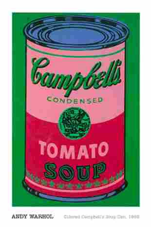 ANDY WORUL CAMPBELL SOUP IT WAS PUBLISHED BY A W