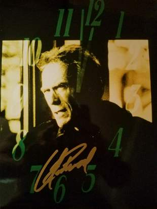 Clint Eastwood - 8 x 10 Signed Photograph w/ Stmt of