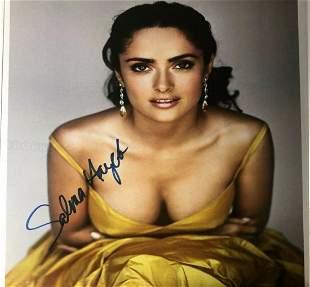 Salma Hayek - 8.5 x 11 Signed Photograph w/COA