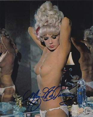 Mamie Van Doren - 8 x 10 Signed Nude Photograph w/COA