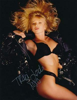 Traci Lords-Sexy Signed 8x10 Photograph w/COA