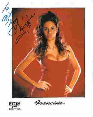 Francine - 8 x 10 Signed Photograph w/COA