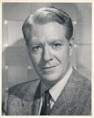 NELSON EDDY SIGNED 8 X 10 PHOTOGRAPH. THIS IS A 8 X 10