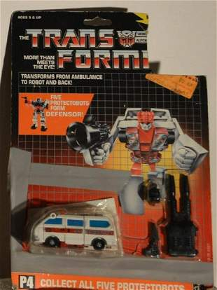 """THE TRANSFORMERS """"FIRST AID"""""""
