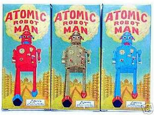 3 atomic robot mint in the box sale