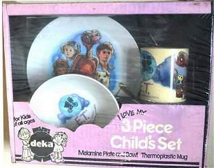 E.T. I LOVE MY 3 PIECE CHILD PLAY SET