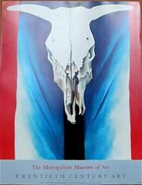"Georgia O'Keeffe - ""Cow's Skull"" (Rare Warehouse Find)"
