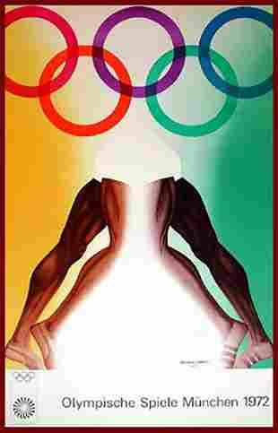 HARTUNG - ALAN JONES OLYMPICS MUNICH 1972