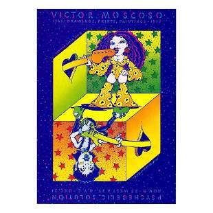 Victor Moscoso - 1987 Handbill