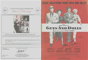 """Jean Simmons - Signed Vocal Selection from """"Guys And"""