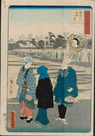 HIROSHIGE / TOYOKUNI III PARADE