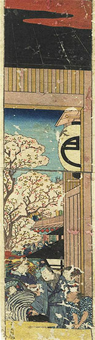 Sadanobu I (1809 - 1879) - Original Woodblock Print