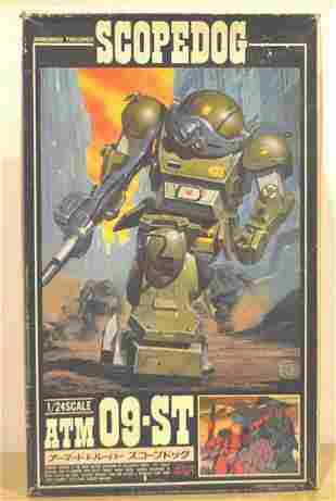 SCOPE DOG ARMORED TROOPER. NO. ATM 09-ST