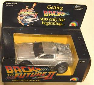BACK TO THE FUTURE PART II HIGH SPEED RACER #2