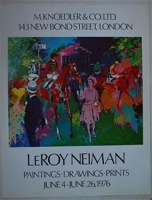 "LEROY NEIMAN ""PAINTING,DRAWING, & PRINTS"""