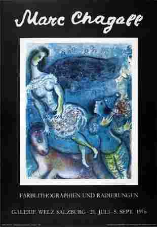 """Marc Chagall - """"Der Zikus"""""""