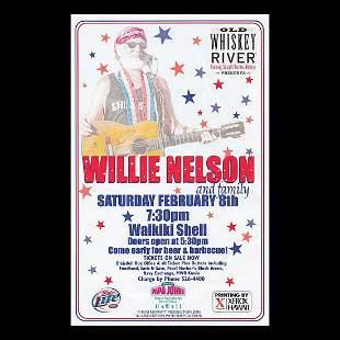 Willie Nelson - 2003 Concert Handbill