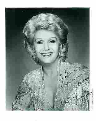 Debbie Reynolds - 8 x 10 Signed Photograph w/COA