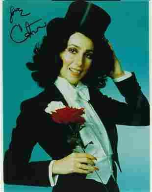 Cher- 8 x 10 Vintage Color signed photograph w/COA