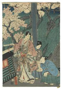 Original Toyokuni III/Kunisada (1786 - 1864) Japanese