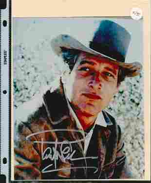 PAUL NEWMAN SIGNED 8 X 10 PHOTOGRAPH. THE AUTHENTICITY