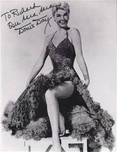 Doris Day - 7.5 x 9.75 Signed Photograph w/COA