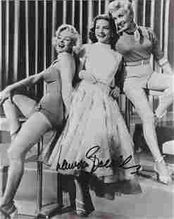 Lauren Bacall - 8 x 10 Signed Photograph w/COA