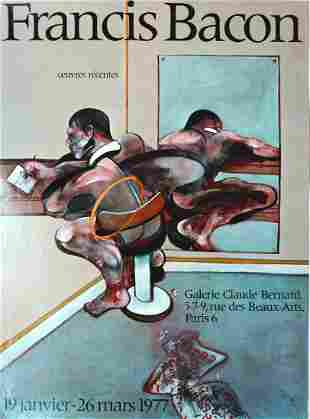 """Francis Bacon - """"Oeuvres Recents (Recent Works)"""