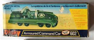 DINKY ARMOURED COMMAND CAR (DIE-CAST)