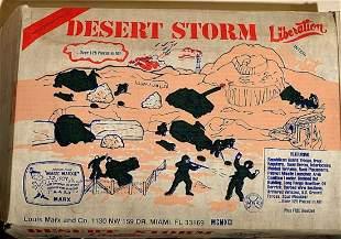 DESERT STORM LIBERATION ACTION SET MODEL KIT.