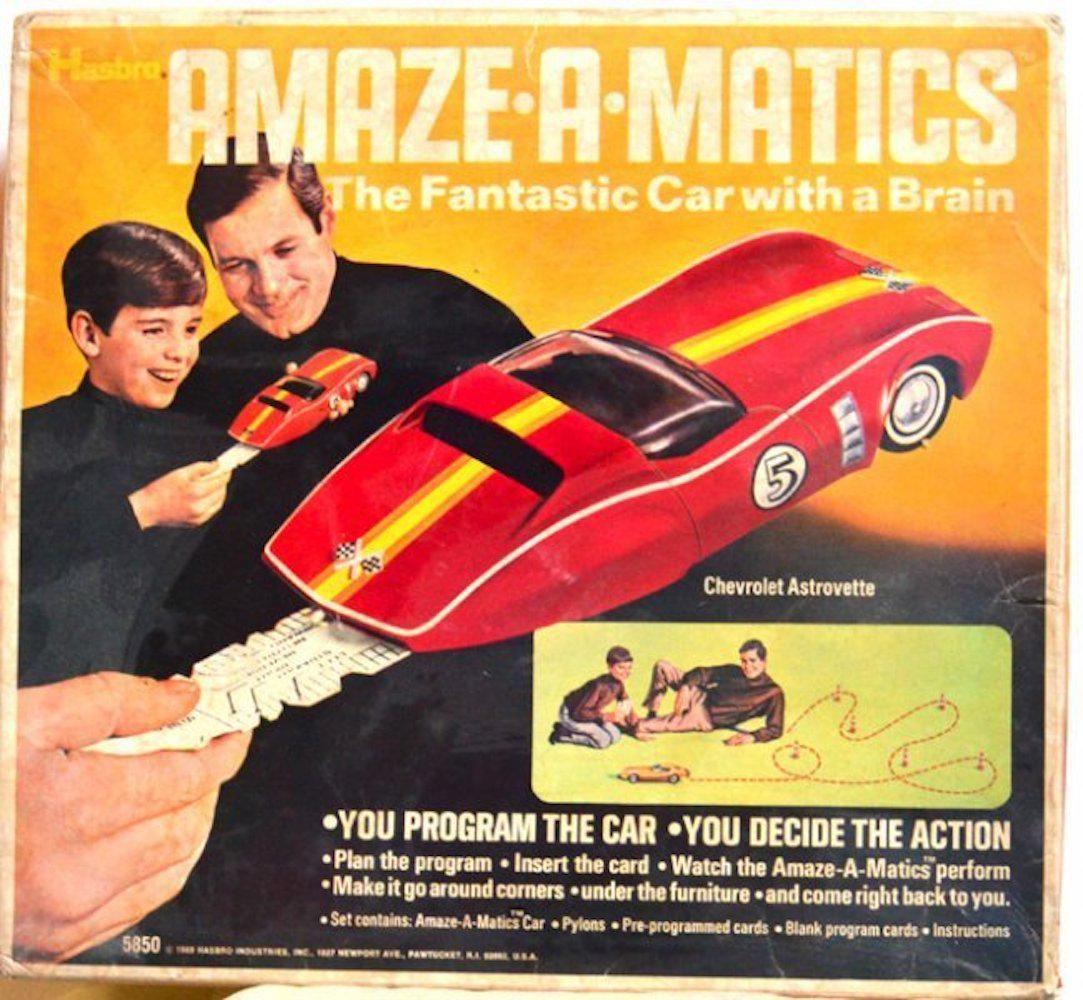 AMAZE-A-MATICS. THE FANTASTIC CAR WITH BRAIN