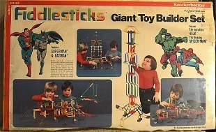 "KNICKERBOCKER ""FIDDLESTICKS"" GIANT TOY BUILDER SET"