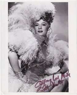Betty Hutton - 8 x 10 Signed Photograph w/COA