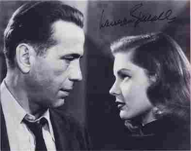 Lauren Bacall - 10 x 8 Signed Photograph w/COA